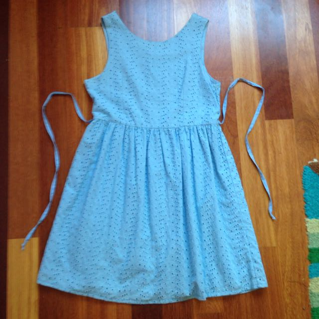 Blue Lacey Dress