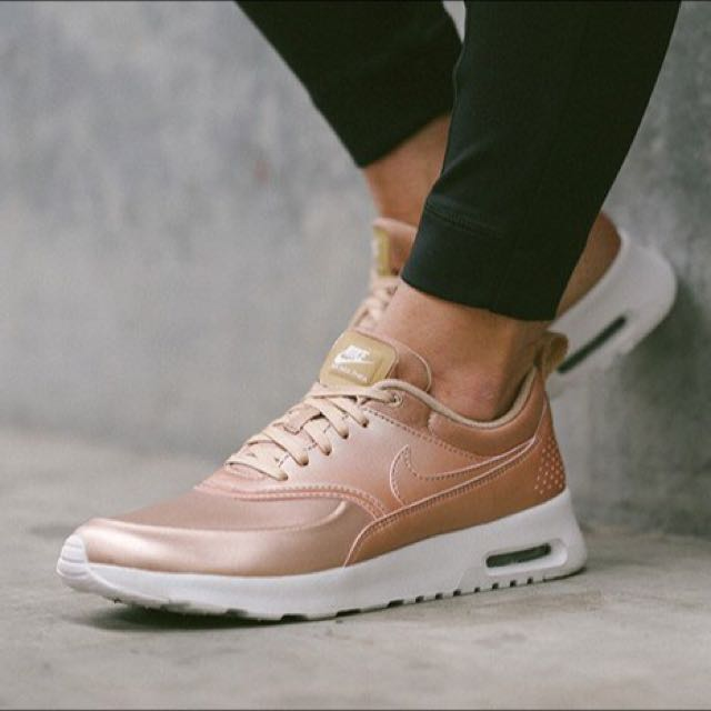 check out 8474a 58db3 BN LIMITED EDITION NIKE THEA (ROSE GOLD), Women s Fashion, Shoes on  Carousell