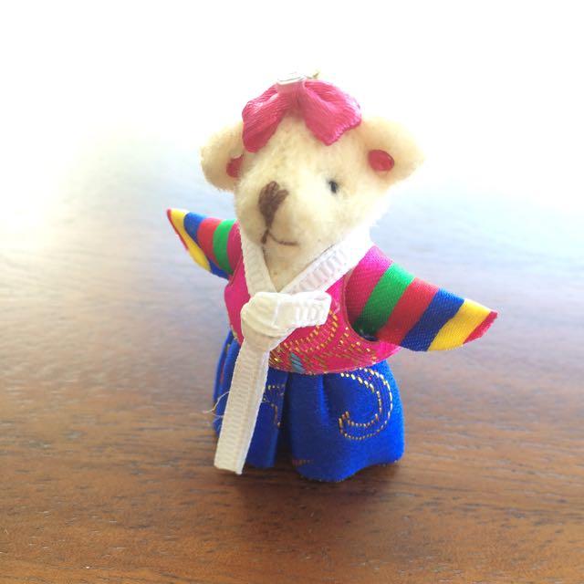 boneka bear korea