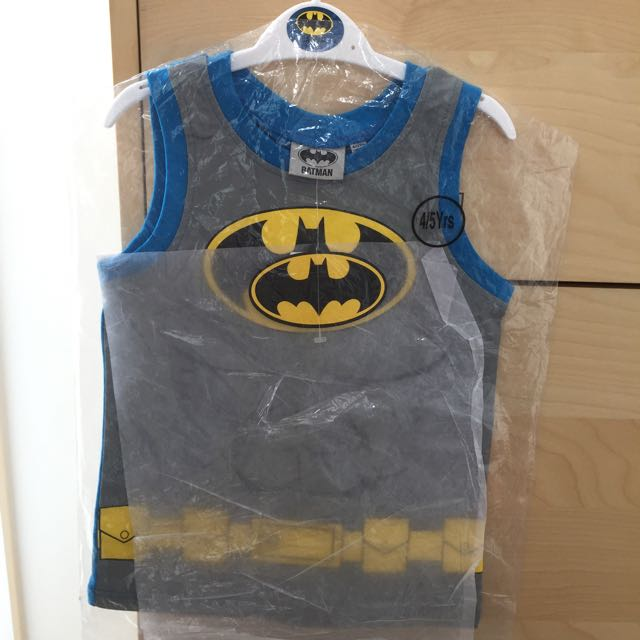 Brand New Batman Singlet