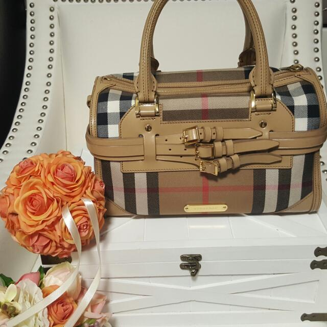 Burberry Bridle Chester Bowler bag
