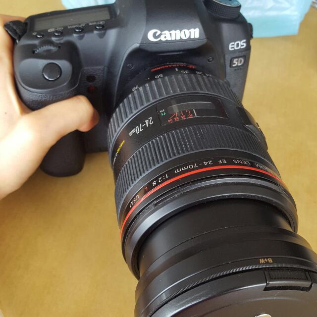 Canan 5D MarkII - lens 24-70