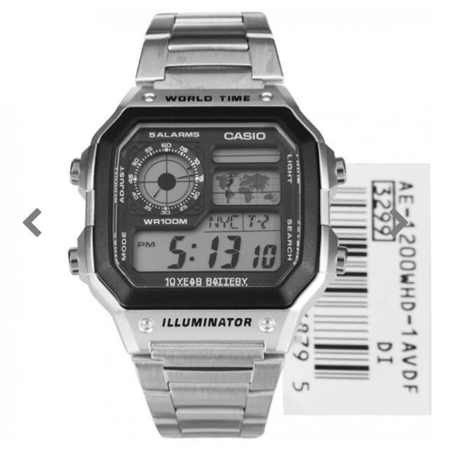 Casio Quartz Digital Watch No: AE-1200WHD- 1AVDF  AE – 1200 WHD – 1A