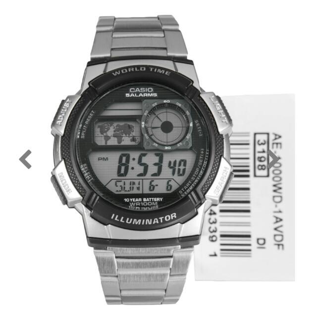 Casio Quartz Illuminator Watch AE- 1000WD-1AVDF AE-1000WD-1A