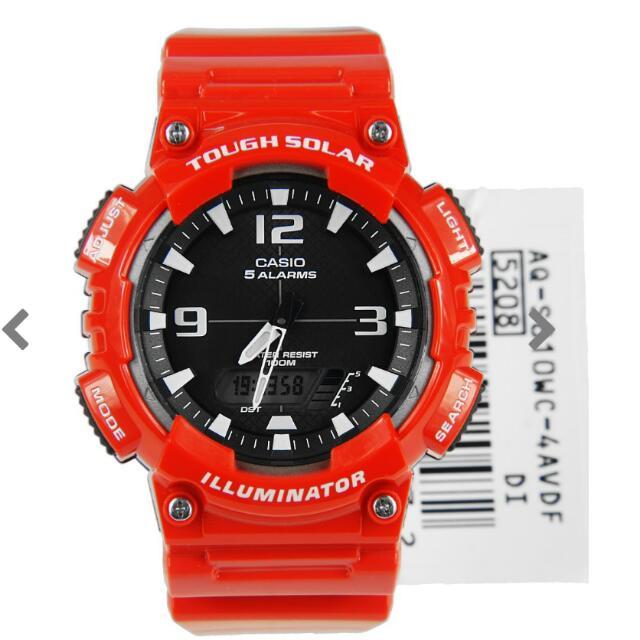 Casio Tough Solar Illuminator Watch No: AQ-S810WC- 4AVDF AQ-S810WC-4A