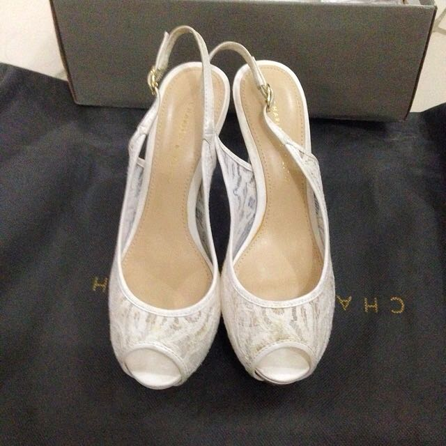 CnK White Shoes
