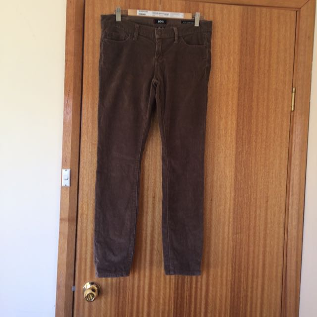 Corduroy Pants Skinny Fit