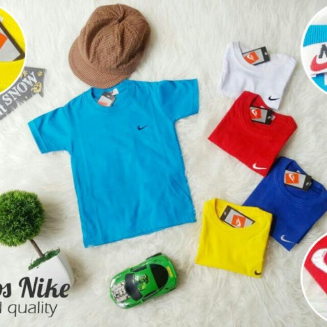 Promo Kaos Nike Anak Murah