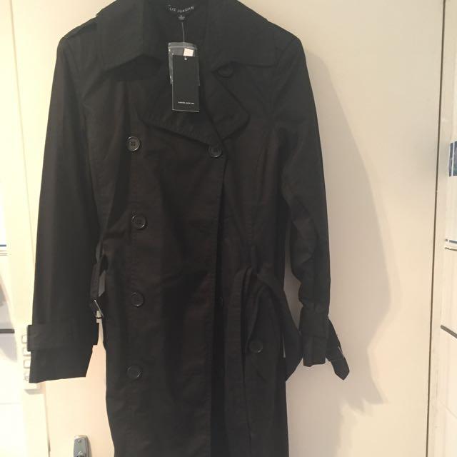 Designer Duffel Coat Black