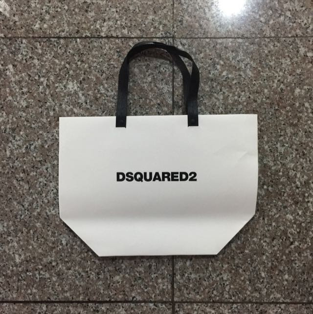 dd0ce197ecb5e0 Dsquared2 Dsquared Paper Bags - Assorted, Luxury, Bags & Wallets on ...