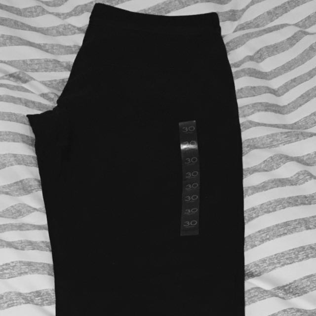 Emerson Black Trouser