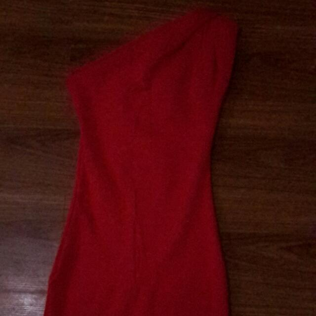 Forever 21 Red Body Con Dress