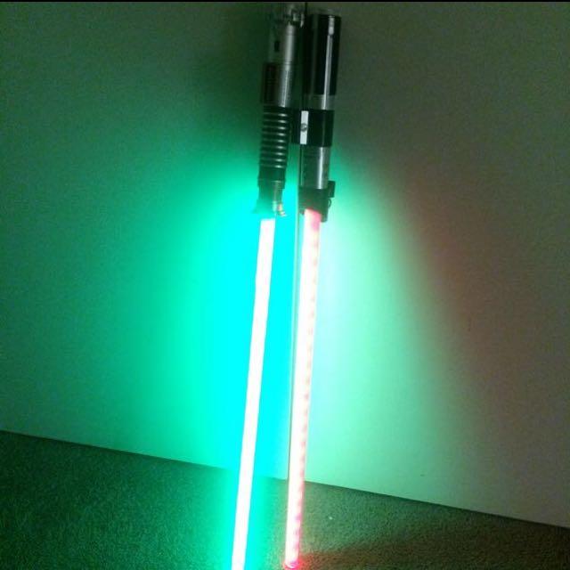 FX Light Sabers - Luke + Vader