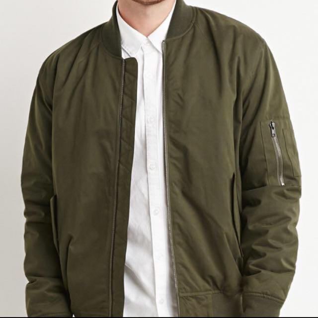 sneakers top-rated original beautiful design H & M Bomber Jacket, Men's Fashion, Clothes on Carousell