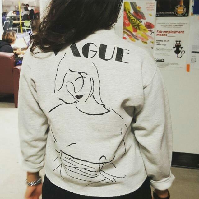 Hand Painted Crew neck sweater