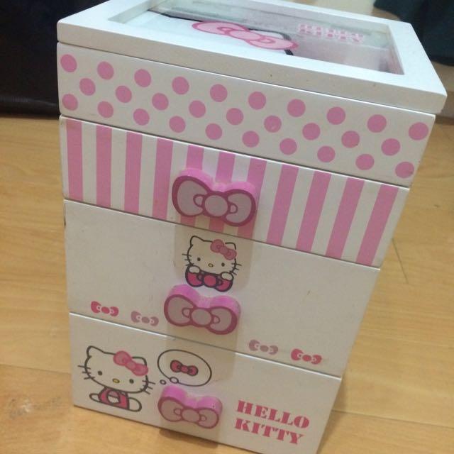 Hello Kitty小收納櫃