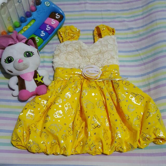 Hello Kitty Dress 2t Up