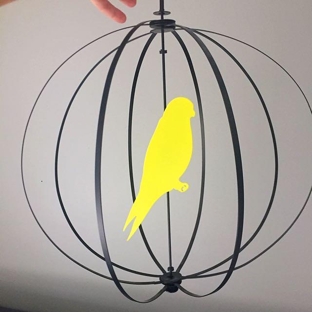 IKEA Hanging Bird Decor Piece