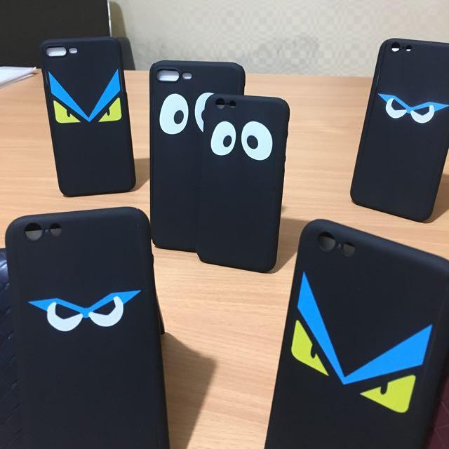 Iphone 5, 6, 6+, 7, 7+ 360 FENDI Case
