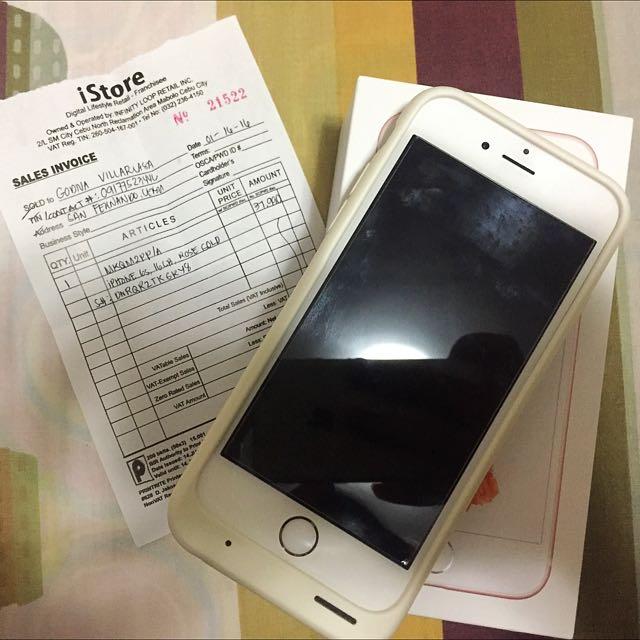 iPhone 6s Rosegold FU