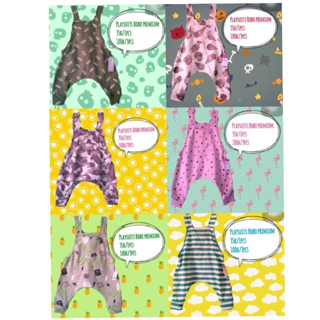 Overall Joger Anak