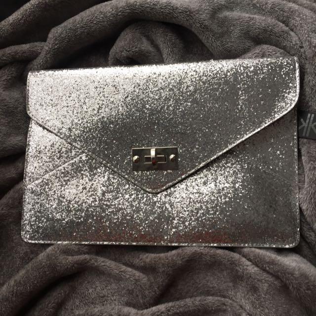 Kardashian Kollection Silver Limited Edition Clutch