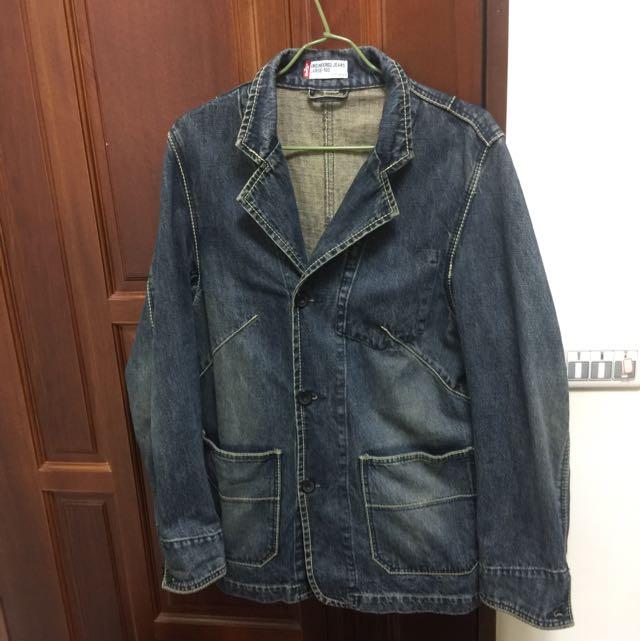 Levi's 長版牛仔外套