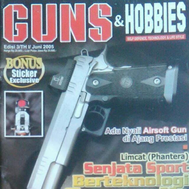 Majalah Guns & Hobbies / Juni 2005
