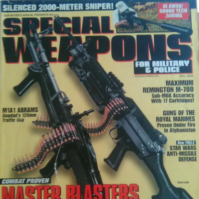 Majalah Special Weapons For Military & Police / Fall 2003