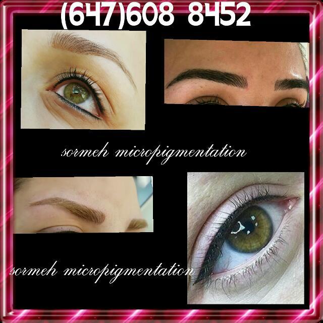 Micropigmentation. permanent Makeup