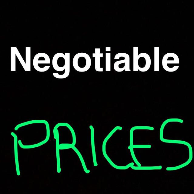 Negotiable Prices Through All My Items