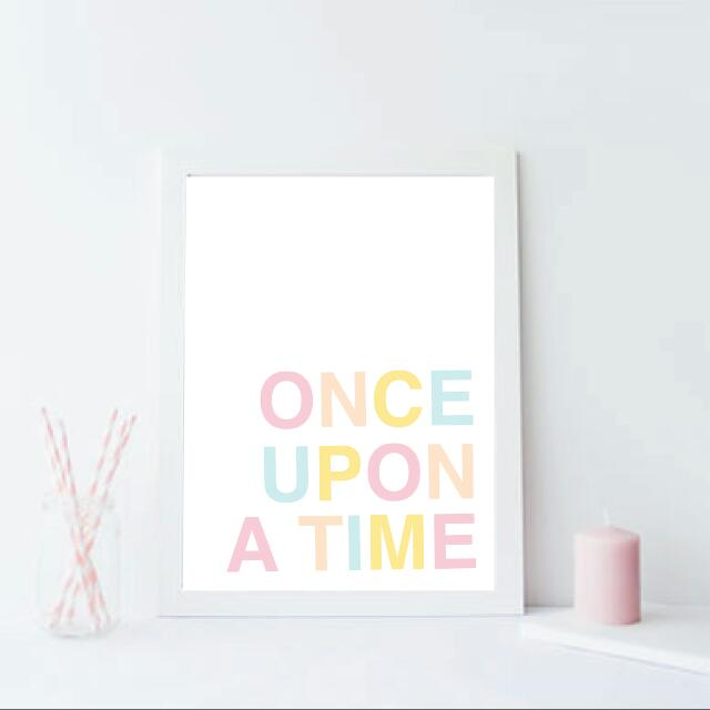 Once Upon A Time Kids Room Decor Babies Kids On Carousell