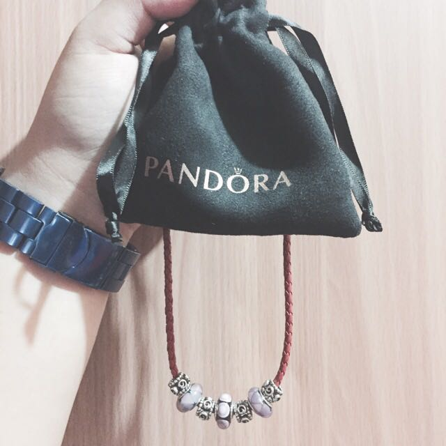PANDORA CHOKER NECKLACE ( with Pouch )