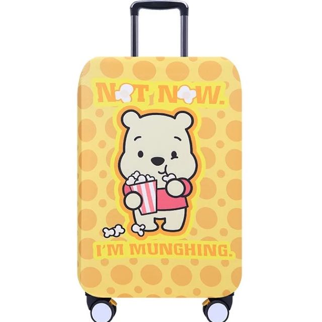 PO Winnie The Pooh Bear Stretchable Luggage Casing 3bf7646c9