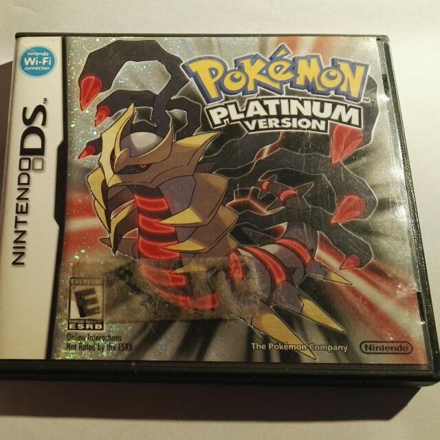 Pokemon Platinum DS Game