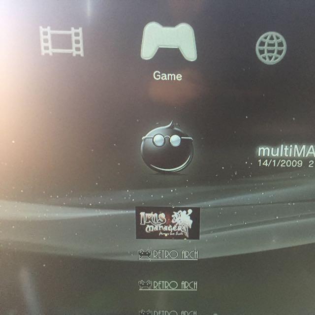 PS3 Jailbroken With Rebug 4.78 DEX And Multiman
