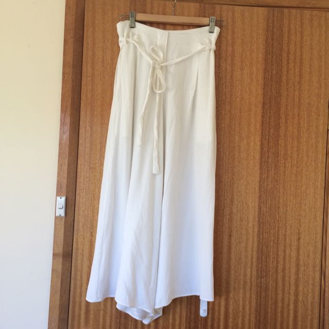 SEED White Culottes