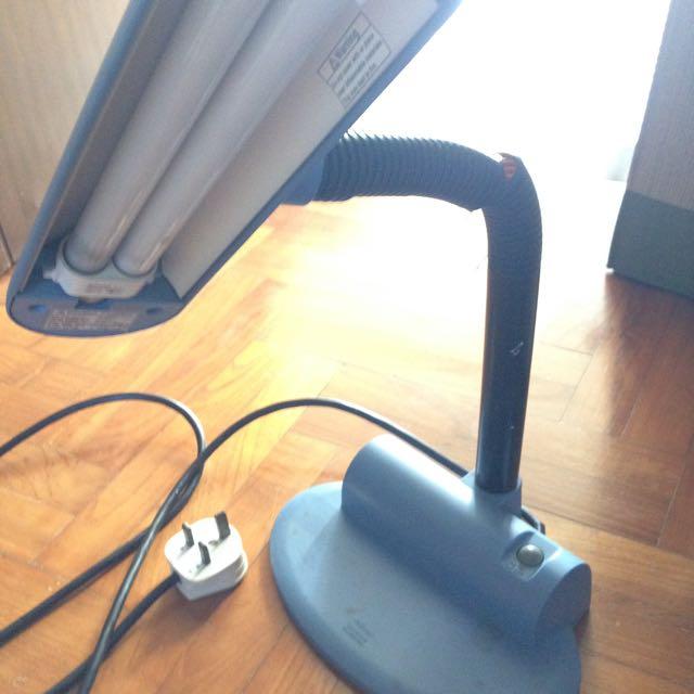 Small National Love Eye Desk Lamp