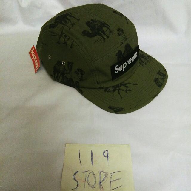 4843bba90a4 SUPREME CAMELS CAMP CAP OLIVE S S 2012