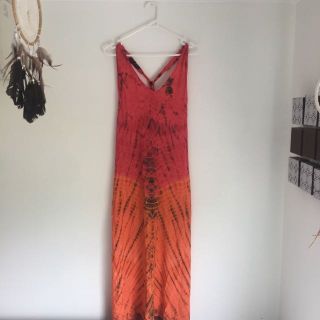 The Sunday Market Tie Die Maxi (size S)