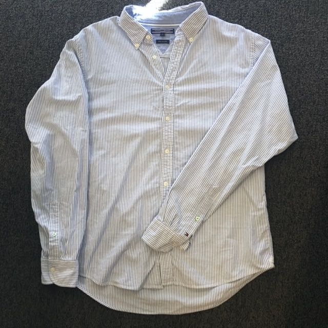 Authentic Tommy Hilfiger Button Up (New York Fit)