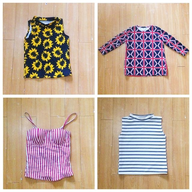 Trendy Tops For Sale! Take All For 600!