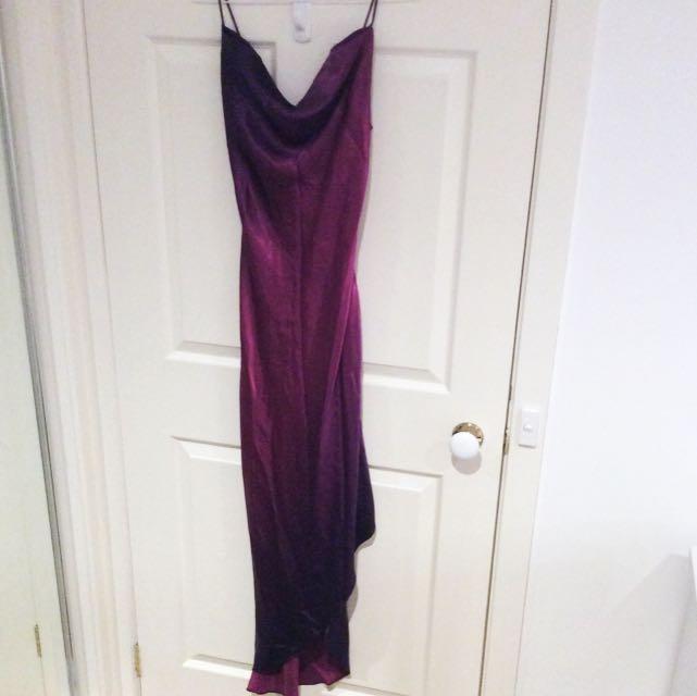Two Tone Purple Formal Dress