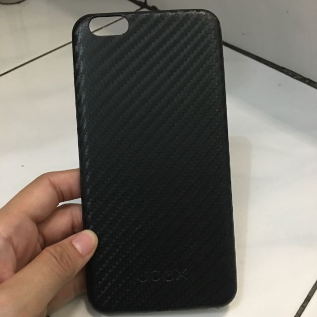 Ubox Black Carbon Iphone 6+