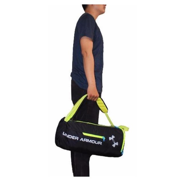 af5d65c55d Under Armour® Isolate Duffel Bag - Black, Sports, Sports Apparel on ...
