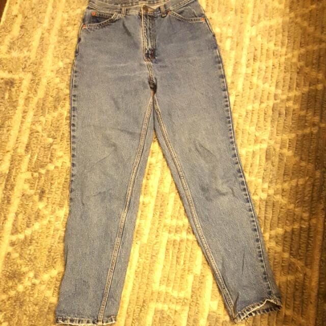 Vintage Levi's High-waisted Jeans