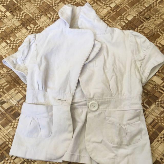 White Lil Cardy/jacket
