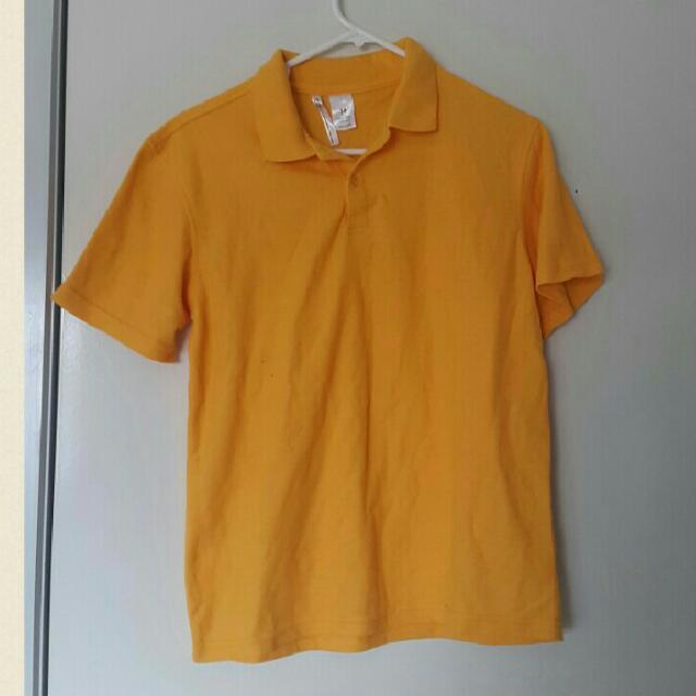 Yellow Sports Tshirt Size 14