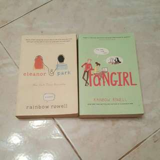 Rainbow Rowell Books