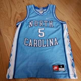 Nike North Carolina Tarheels Jersey Size Adult Small